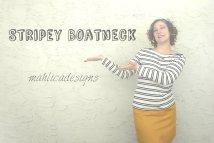 Modern Boatneck
